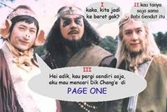 3 bersaudara pencari kitab suci